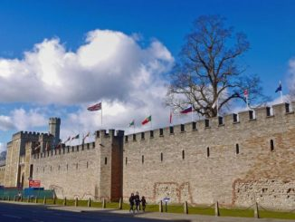 Castle in Cardiff, Wales