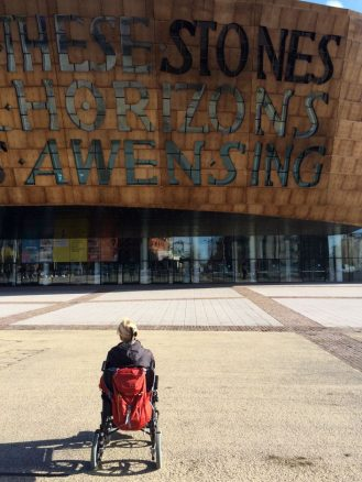 Wales Millennium Centre on The Bay