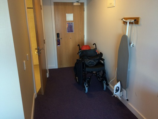 Wheelchair users neglected by public transport & hotel ...