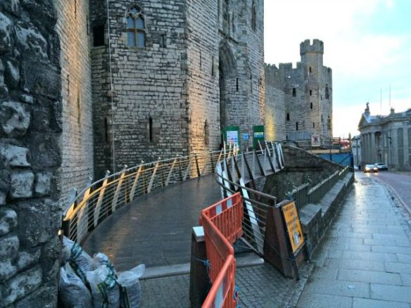 Disabled Access on Welsh Castle
