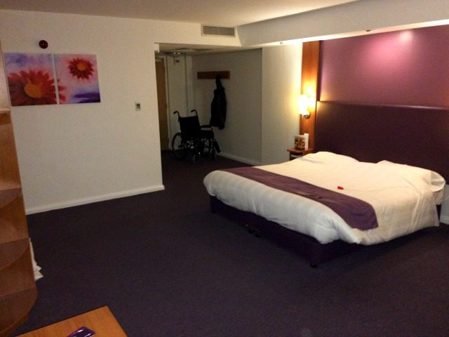 Premier Inn, Accessible Room