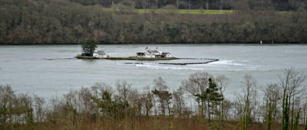 Fish Trap on Menai Straits