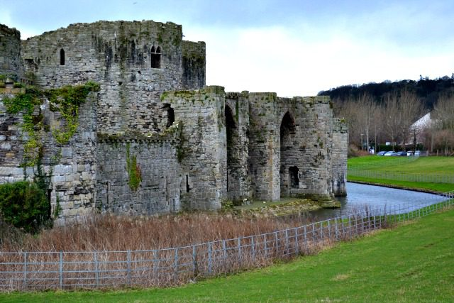 The Unfinished Castle in Beaumaris
