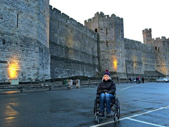 Parking at Caernarfon Castle
