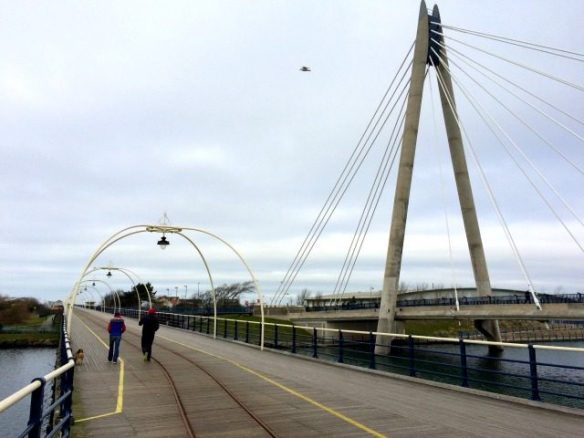 Millennium Bridge in Southport