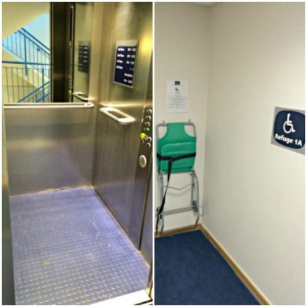 Accessible Hotel Lift