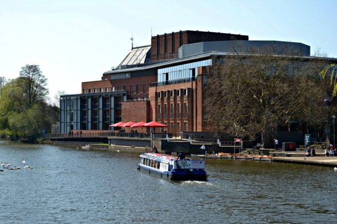 Royal Shakespeare Theatre from River Avon