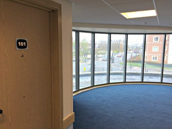 Wheelchair Accessible Walkways in the Travelodge
