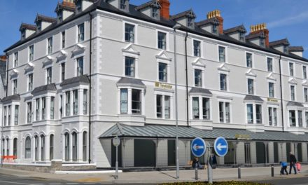 New Travelodge Hotel in Llandudno, North Wales