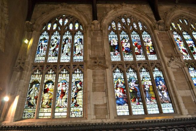 Picture Windows in Holy Trinity Church