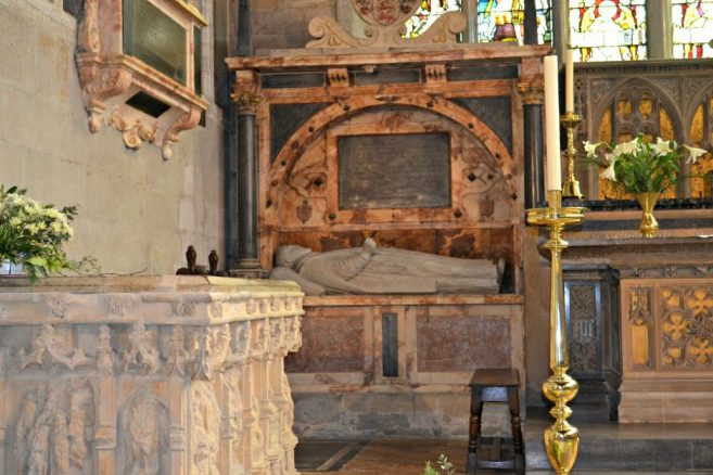 Tomb in Chancel