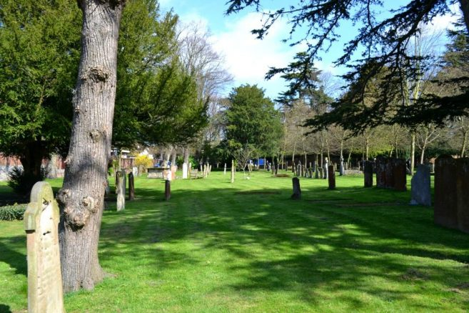 Grounds of Holy Trinity