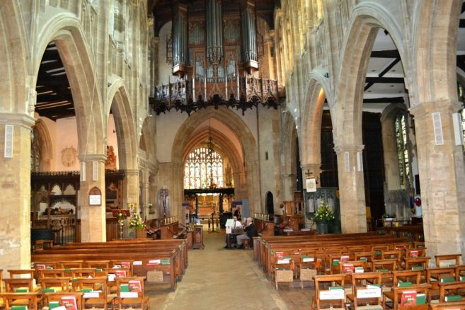 Nave in Holy Trinity