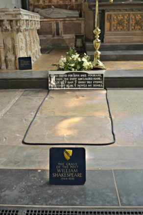 The Bard's Burial Place