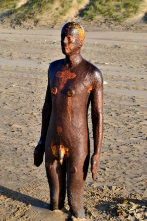 Naked Iron Man in Crosby