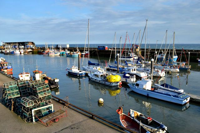 Boats in Bridlington