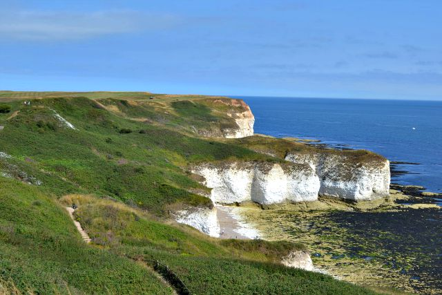 Flamborough Head View from Headland