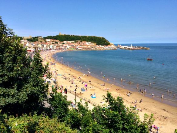 Scarborough from Cliff