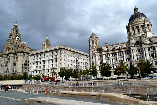 Three Graces in Liverpool
