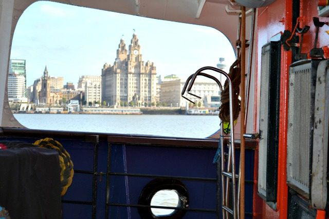Liverpool From Ferry