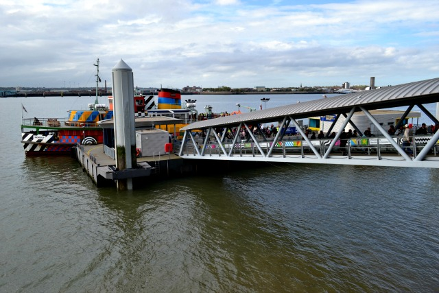 Landing Stage at Pier Head