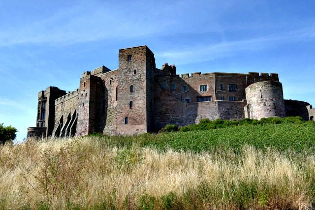 Bamburgh Castle on the Hill