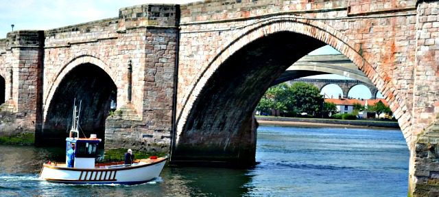 Sailing on River Tweed