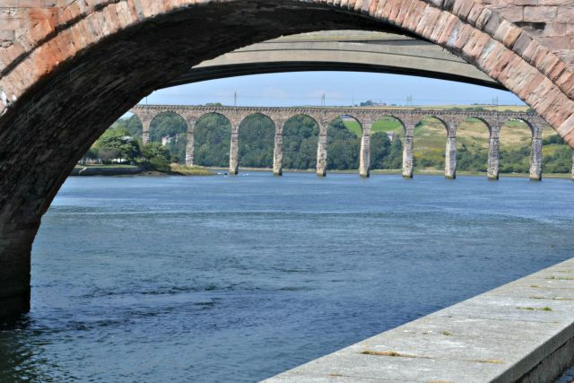 Bridges Over River Tweed