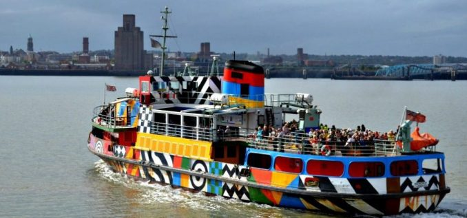 Take a River Cruise on The Razzle Dazzle Mersey Ferry