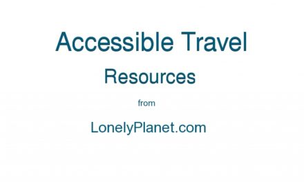 The Accessible Tourism Bible from Lonely Planet