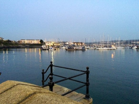 View Over Plymouth Harbour