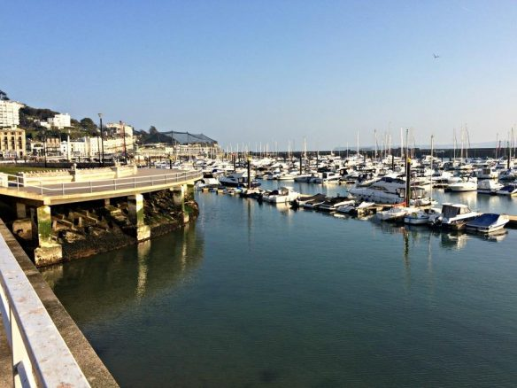 Yachts in Torquay Harbour