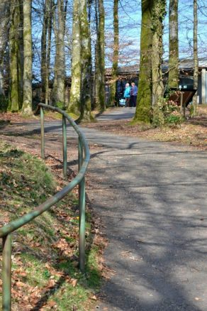 Access from Visitor Centre