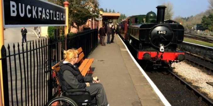 A Ride on an Accessible Steam Train with South Devon Railway