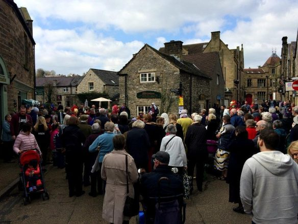 Crowds in Bakewell