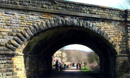 A Walk on the Monsal Trail in Derbyshire