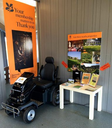 National Trust Mobility Scooter