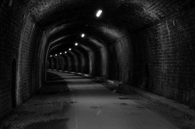 Tunnel on the Monsal Trail