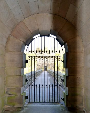 Gate on the Dam