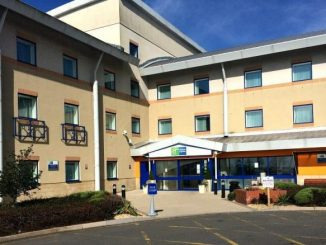 Holiday Inn Express in Cardiff Airport