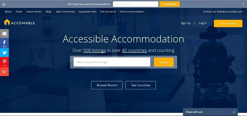Accomable - Disabled Holiday Accommodation