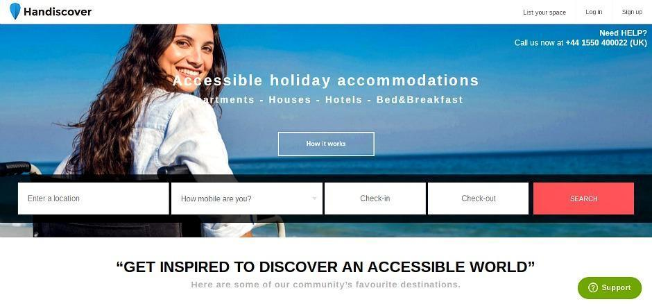 Handiscover - Holiday Accommodation