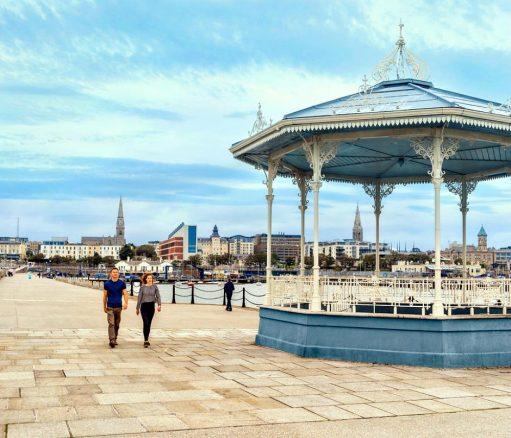 Accessible Walk in Dun Laoghaire
