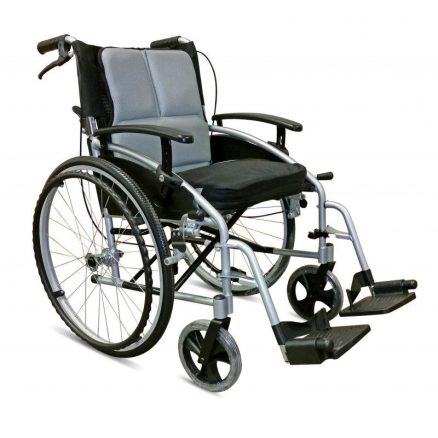 this stylish lightweight travel wheelchair features attendant. Black Bedroom Furniture Sets. Home Design Ideas