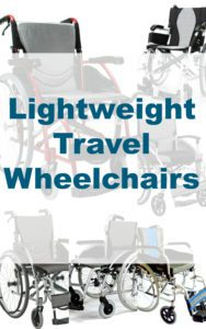 Lighweight Travel Wheelchair