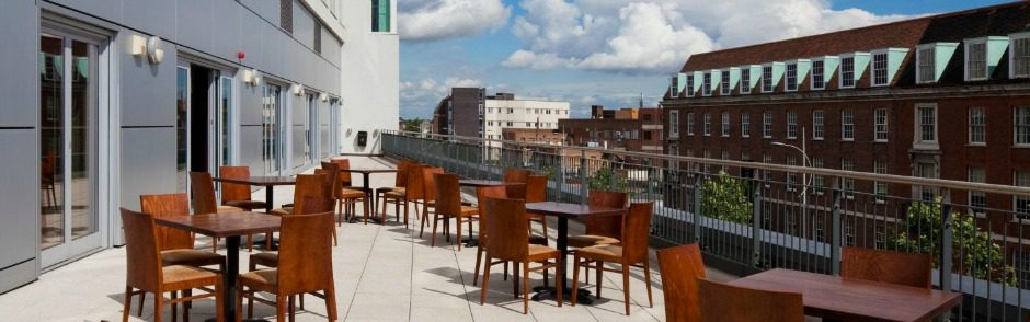 Outdoor Balcony Overlooking Hull City Centre