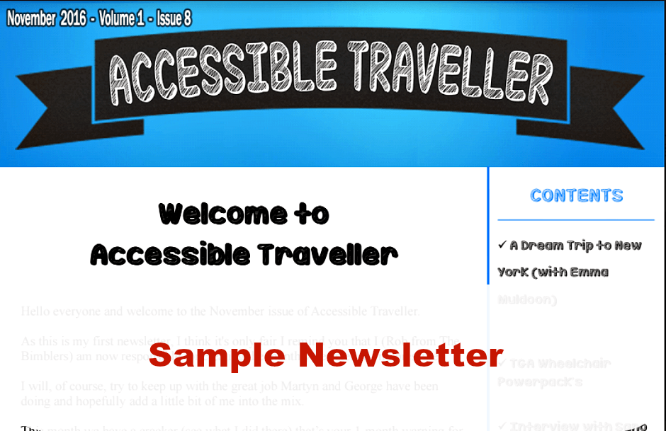 accessible-travel-newsletter