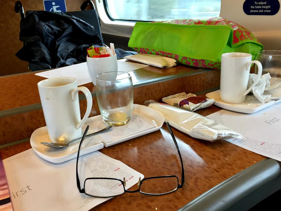 Food and Drink on Virgin Trains