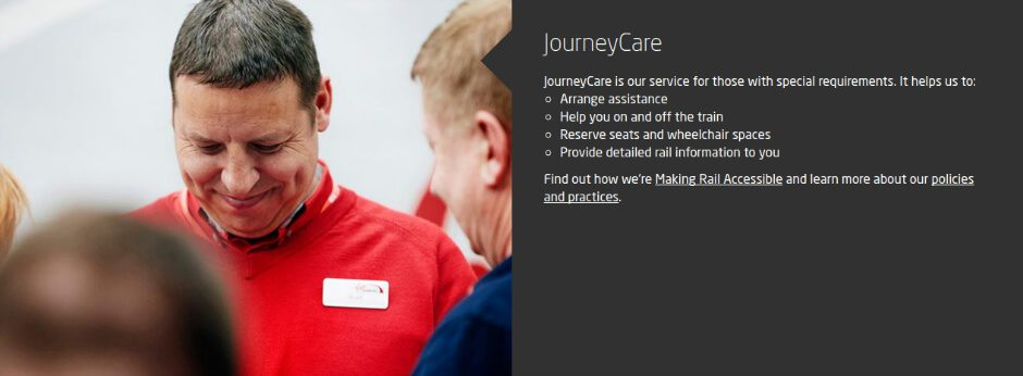 Journey Care on Virgin Trains