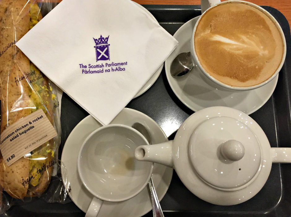 Tea Rooms in Scottish Parliament